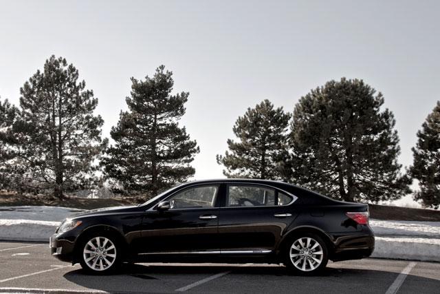Black 2011 Lexus LS 600hL