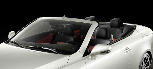 Lexus IS 350C F-Sport Interior