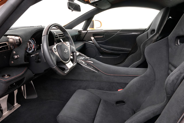 Lexus LFA Nürburgring Package Interior