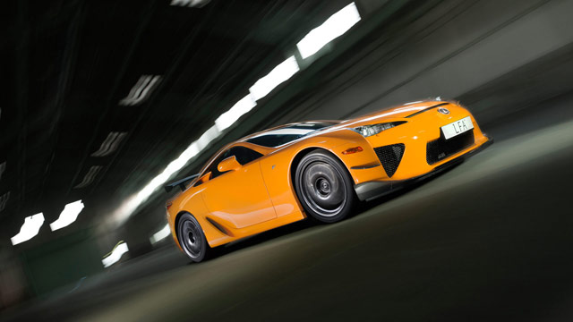 Lexus LFA Nürburgring Desktop Wallpaper 1