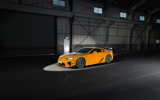 Lexus LFA Nürburgring Desktop Wallpaper 3
