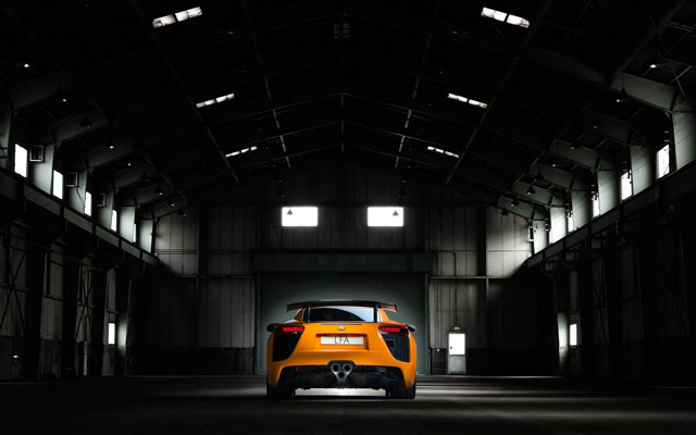 Lexus LFA Nürburgring Desktop Wallpaper 4