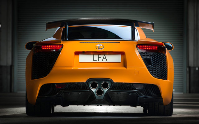 Lexus LFA Nürburgring Desktop Wallpaper 5