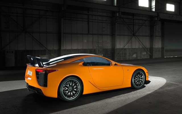 Lexus LFA Nürburgring Desktop Wallpaper 6