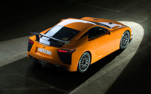Lexus LFA Nürburgring Desktop Wallpaper 7