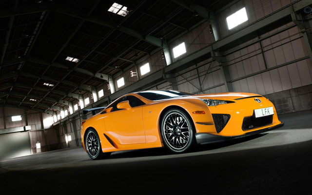 Lexus LFA Nürburgring Desktop Wallpaper 8