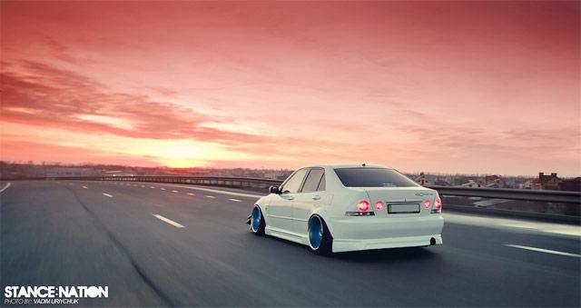 Lexus IS/Toyota Altezza from Ukraine