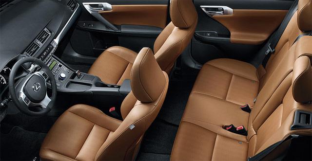 Lexus CT 200h Caramel Nuluxe Interior