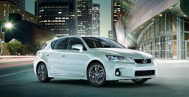 Lexus CT 200h Night White