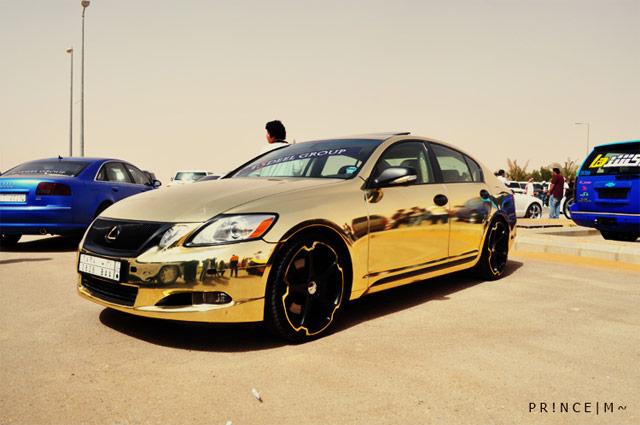 Gold Foil Lexus