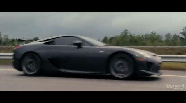Lexus LFA in Fast & Furious