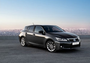 Lexus CT 200h 1,000 Pre-Orders in Netherlands