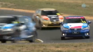 Lexus CT 200h Celebrity Race in Australia