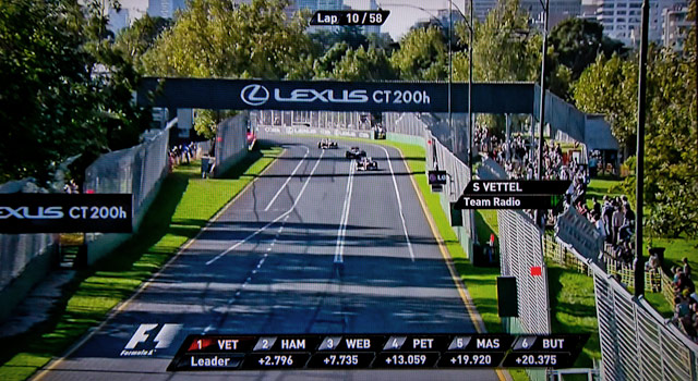 Lexus Advertising @ The Austrlian Grand Prix 1