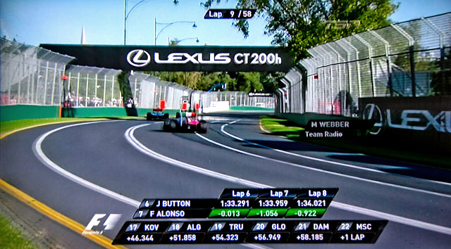 Lexus Advertising @ The Austrlian Grand Prix 3