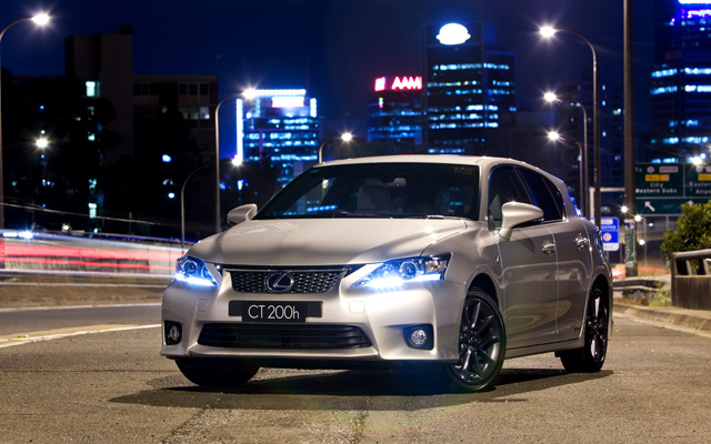 Lexus CT 200h F-Sport Desktop Wallpaper