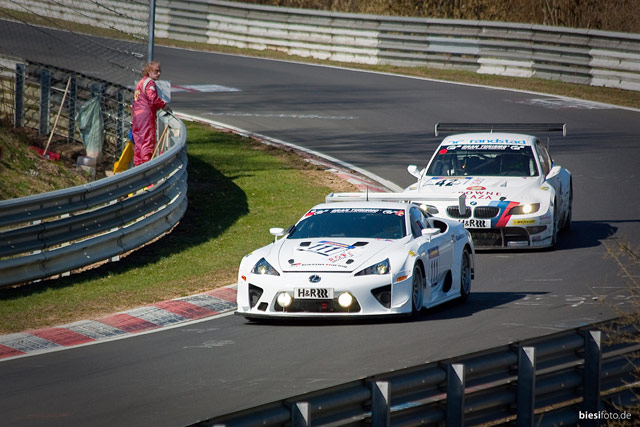 #111 Lexus LFA at VLN 1 Season