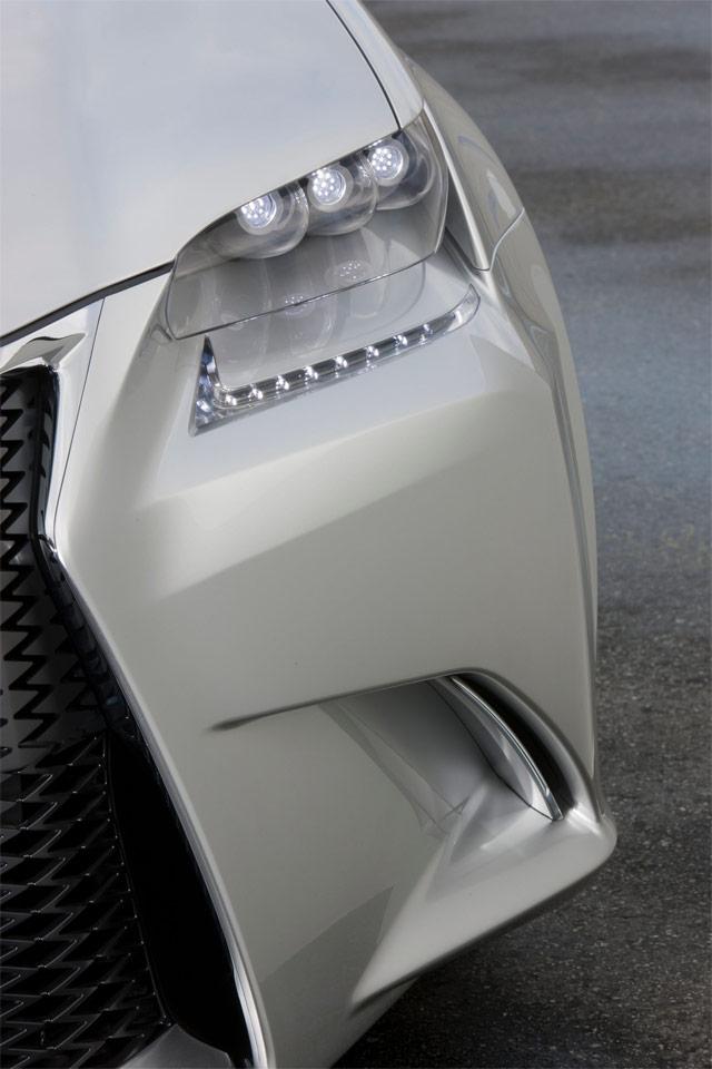 Lexus LF-Gh Teaser Front