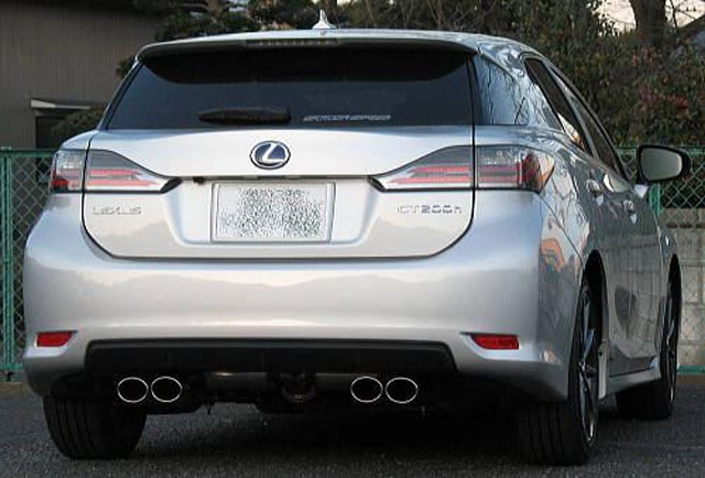 Lexus CT 200h Exhaust System by TOM's'