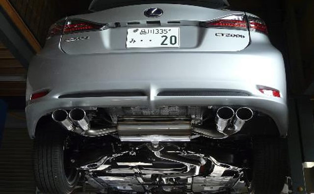 Lexus CT 200h Exhaust System by TOM's