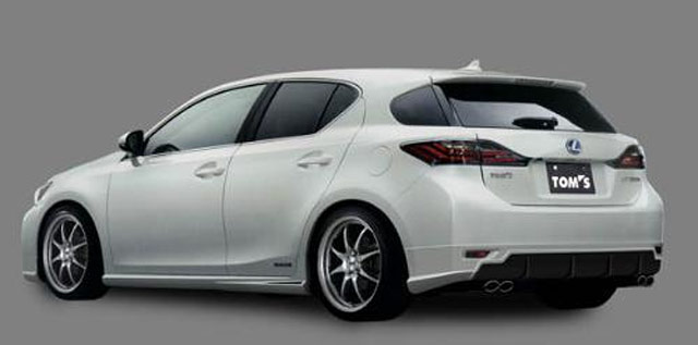 Lexus CT 200h Body Kit by TOM's'