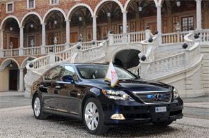 His Serene Highness Price Albert II of Monaco Lexus