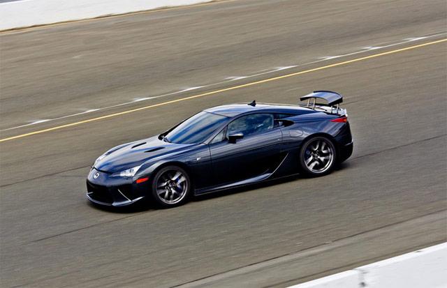 Lexus LFA @ Infineon Raceway