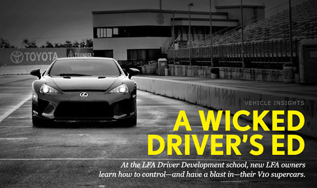 Lexus LFA Driver Development Program by Kevin Watts