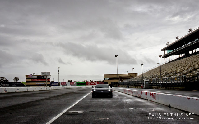 KREW Lexus LFA Driver Development Desktop Wallpaper: Ominous
