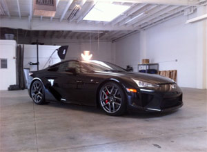 Lexus LFA with Inside Line This Week