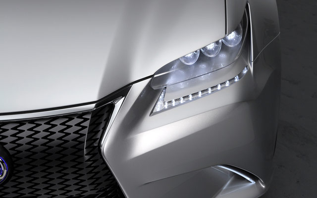 Lexus LF-Gh Front Light Desktop Wallpaper