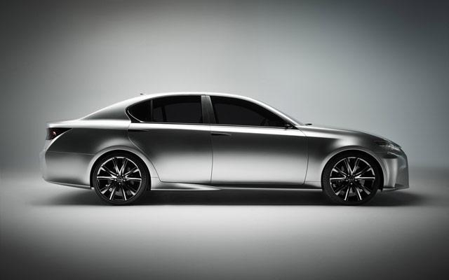 Lexus LF-Gh Side Profile Desktop Wallpaper