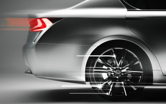 Lexus LF-Gh Wheel Detail Desktop Wallpaper