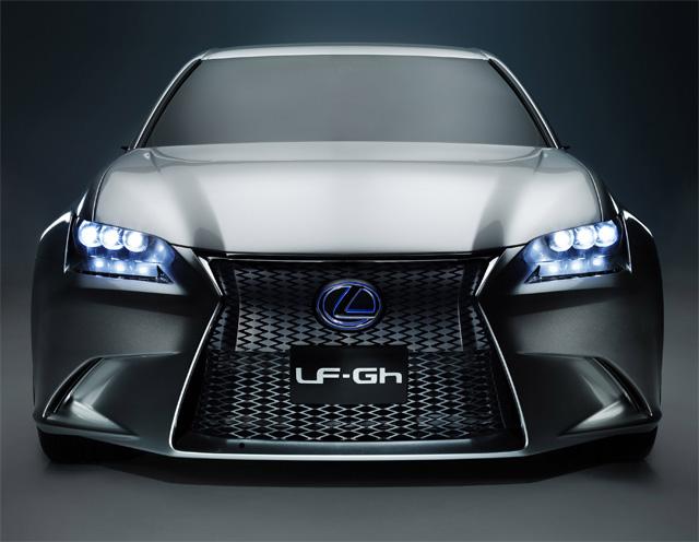 Lexus LF-Gh Front Detail