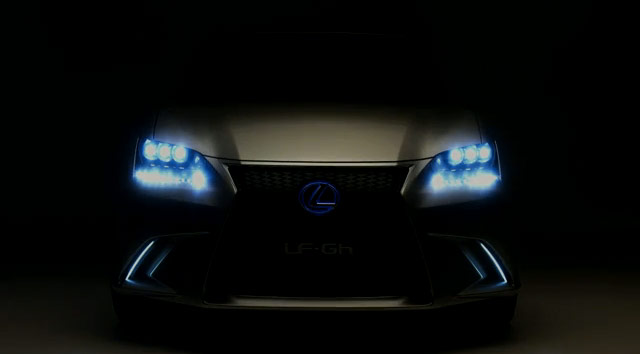 Lexus LF-Gh Night Time Lights