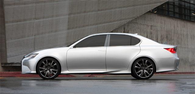 Lexus LF-Gh Side Profile