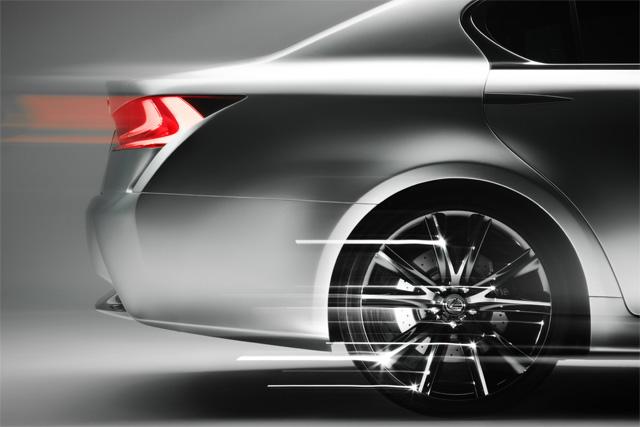 Lexus LF-Gh Wheel Detail