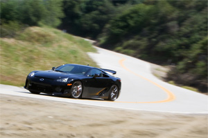 Lexus LFA Inside Line Mountain Road