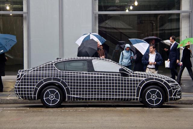 Lexus LF-Gh CAD Drawing