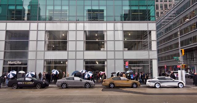 Lexus LF-Gh Caravan in NYC