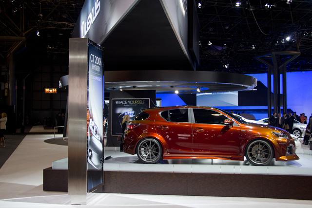 Lexus CT Brian Fox Side