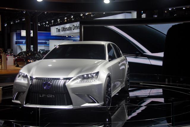 Lexus LF-Gh Front