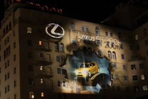 Lexus CT 200h 3d Mapping