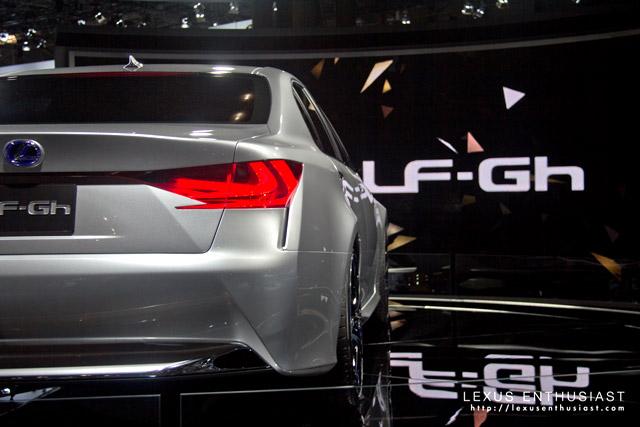 Lexus LF-Gh Concept @ New York Autoshow