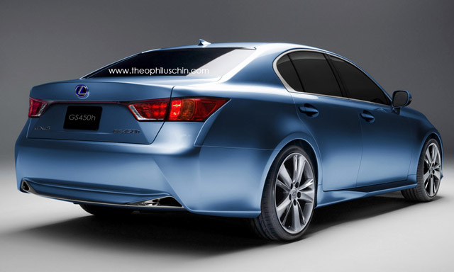 2012 Lexus GS by Theophilus Chin Rear