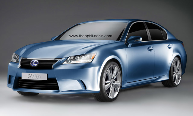 2012 Lexus GS by Theophilus Chin