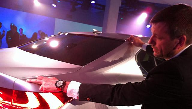 Lexus Simon Humphries Lexus Global Design