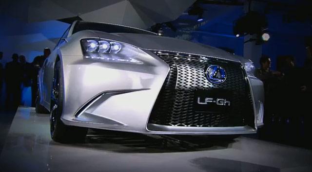 Lexus LF-Gh at an angle