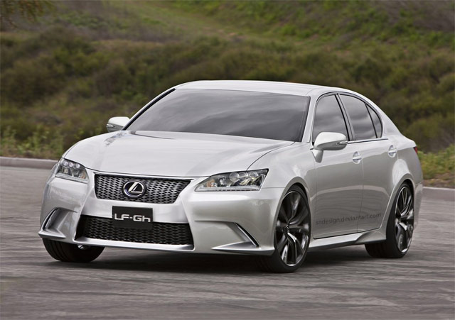 Next Generation Lexus GS? Front