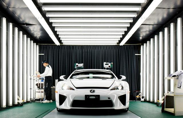 Lexus LFA Works Motomachi Plant 3